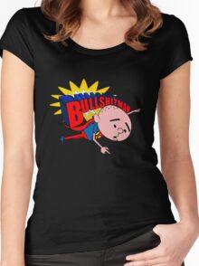 Bullshit Man - Karl Pilkington T Shirt Women's Fitted Scoop T-Shirt