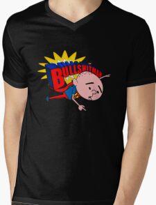 Bullshit Man - Karl Pilkington T Shirt Mens V-Neck T-Shirt