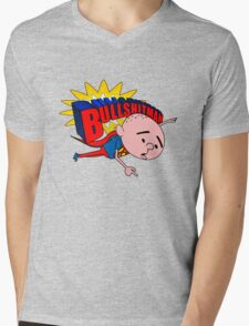 Bullshit Man - Karl Pilkington T Shirt Mens V-Neck T-Shirt