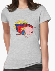 Bullshit Man - Karl Pilkington T Shirt Womens Fitted T-Shirt