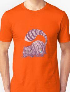 Inside wonderland (cheshire cat) Unisex T-Shirt