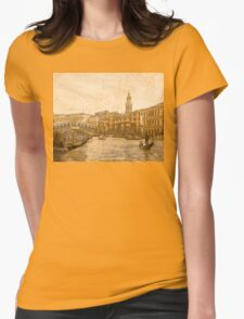 Venezia D'Oro 3 Womens Fitted T-Shirt