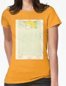 USGS Topo Map Washington State WA Point Roberts 243172 1952 24000 T-Shirt