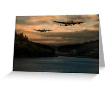 The Dambusters Greeting Card
