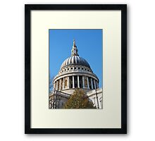 St.Pauls Cathedral, London Framed Print