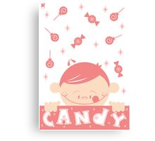 CANDY! Canvas Print