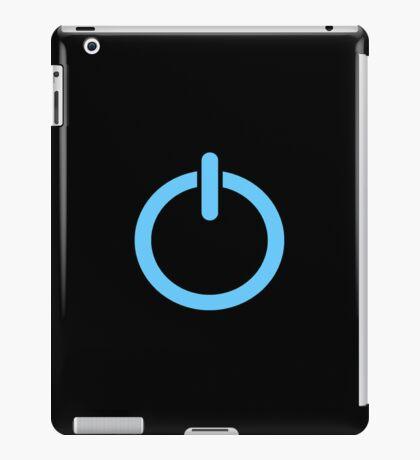 Power Up! - Blue iPad Case/Skin