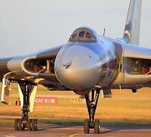 XH558 Avro Vulcan ~ Spirit of Great Britain by Clare Scott