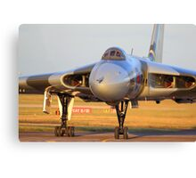 XH558 Avro Vulcan ~ Spirit of Great Britain Canvas Print
