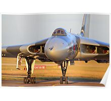 XH558 Avro Vulcan ~ Spirit of Great Britain Poster