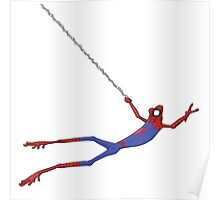 Spiderfrog Poster