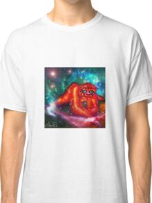 fluffly catspacesloth Classic T-Shirt