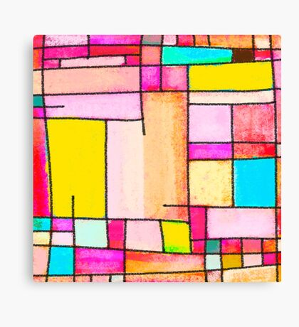 Abstract of city Canvas Print
