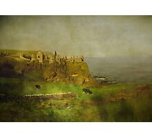 Old Dunluce Photographic Print