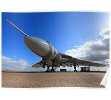 Avro Vulcan XH558 ~ Spirit of Great Britain Poster