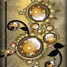 TwistedWithGold-IPad cases by coby01