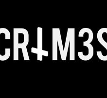 CRIM3S white text with cross by ultratrash
