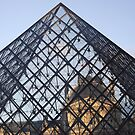 Louvre pyramid, Paris, France by graceloves
