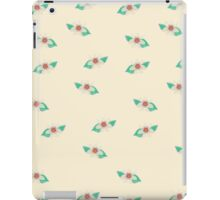 Pale Yellow Floral Art iPad Case iPad Case/Skin