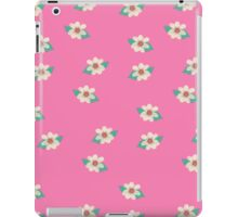 Pink and White Floral Art iPad Case iPad Case/Skin