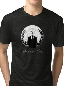 Anonymous - Expect Us Tri-blend T-Shirt