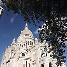 Sacre Coeur, Montmatre, Paris by graceloves