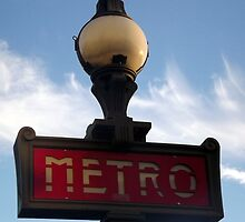 Paris metro by graceloves