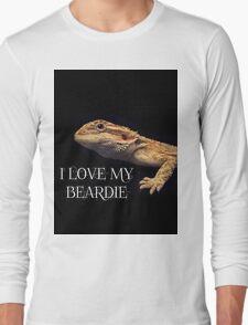 i LOVE MY BEARDIE Long Sleeve T-Shirt