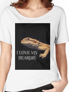 i LOVE MY BEARDIE Women's Relaxed Fit T-Shirt