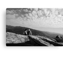 On top of the WORLD!!! Canvas Print