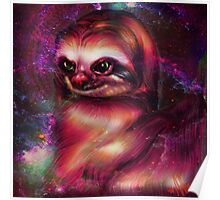 Sloths in space Poster