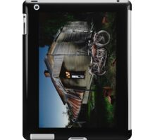 Unrestored 1924 Indian Chief and Australian farm house iPad Case/Skin