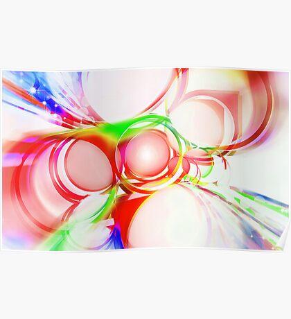 abstract of circle Poster