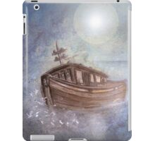 Ghost Ship in the Storm iPad Case/Skin