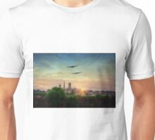 Lancaster Flyby Lincoln Cathedral Unisex T-Shirt