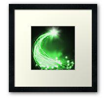 technology lighting Framed Print