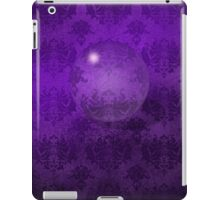 Deep Purple Damask Grunge Crystal Ball iPad Case iPad Case/Skin