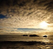 Sunset, Iceland, North Atlantic by Dean Bailey