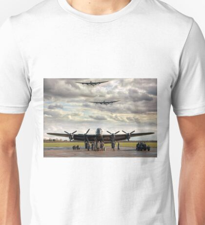 Three Lancs Unisex T-Shirt