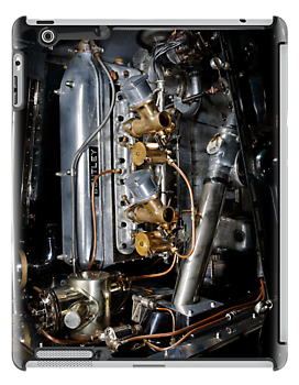 4.5 Litre Bentley Engine by Frank Kletschkus