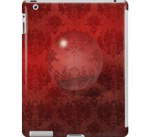 Red Damask Crystal Ball, iPad Case iPad Case/Skin