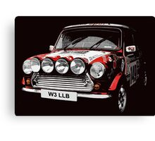 Classic Mini Cooper S Canvas Print