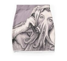 Phone Call of Cthulyn Mini Skirt