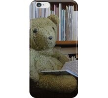Scruffles with a Book iPhone Case/Skin