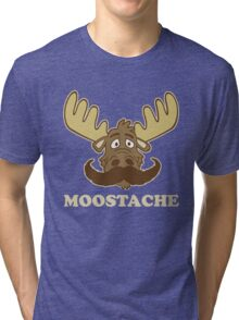 Moostache Tri-blend T-Shirt