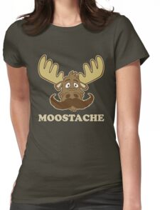 Moostache Womens Fitted T-Shirt