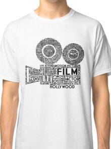 Film Camera Typography - Black Classic T-Shirt