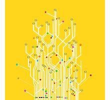 circuit board Photographic Print