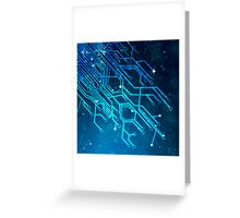 tree of technology Greeting Card