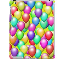 Peridot Background, Balloons iPad Case iPad Case/Skin
